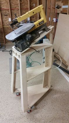 Inspired by dewalt scroll saw stand