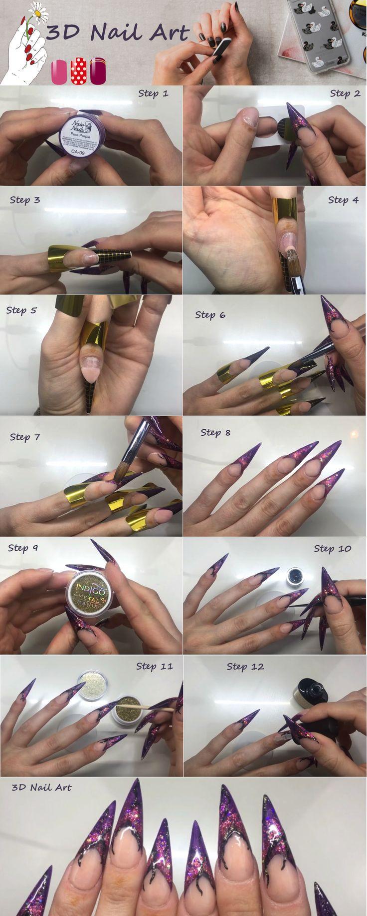 18 best Nail Arts images on Pinterest | Art nails, Nail arts and ...