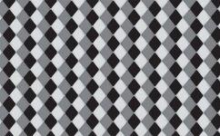 fototapet romburi alb-negru