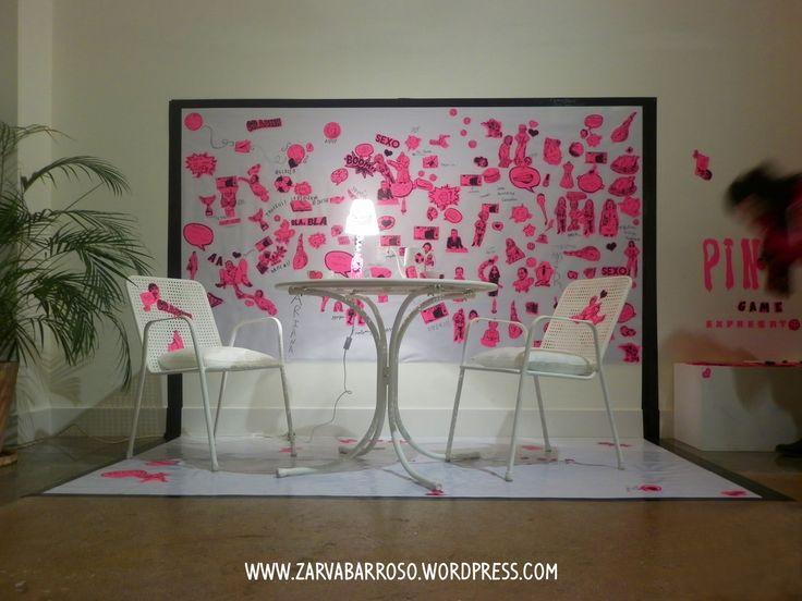 Pink Game. Zarva Barroso. 2014.