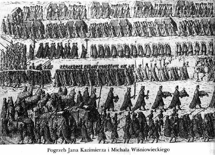 Pogrzeb Jana Kazimierza i Michała Wiśniowieckiego