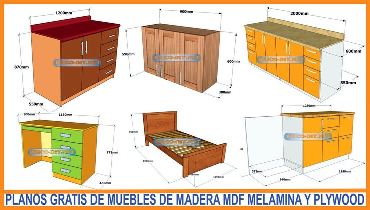 M s de 1000 ideas sobre planos gratis en pinterest for Software diseno muebles melamina