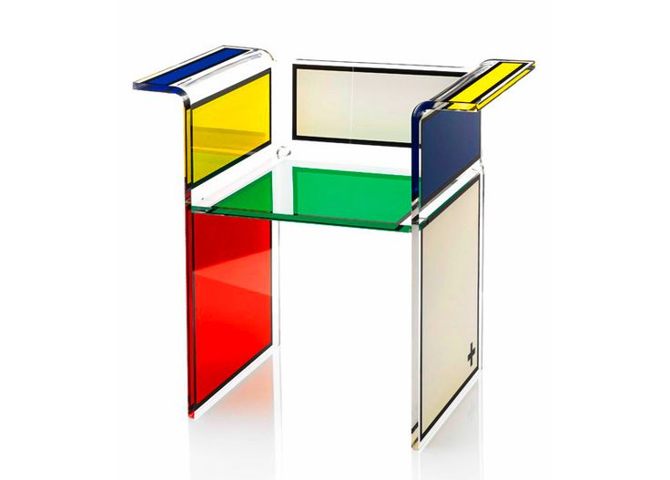 If Its Hip, Its Here: Acrila - Modern Acrylic Furniture That Goes From Baroque To Pop Art.