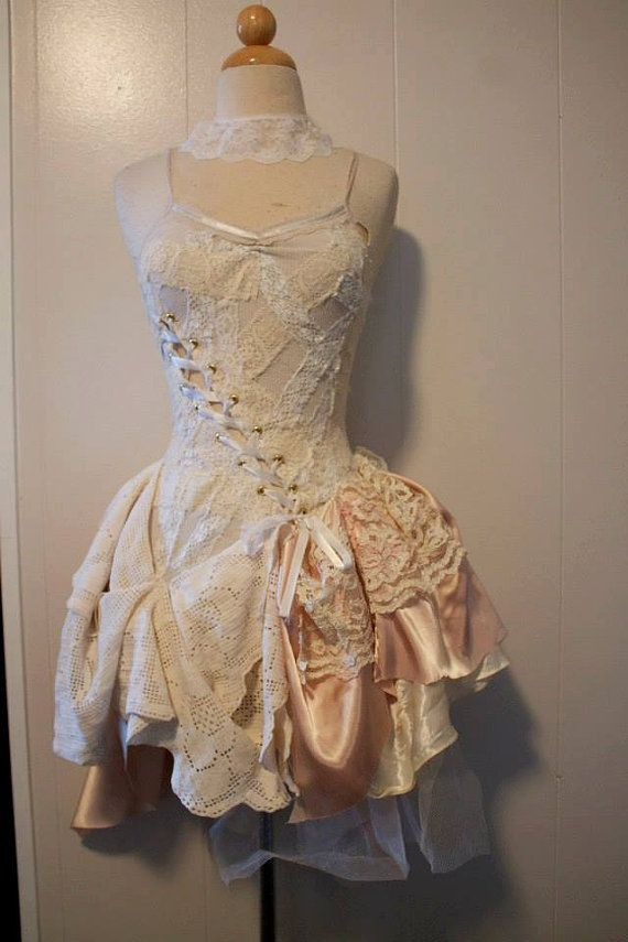 220 best images about corset on pinterest for Steampunk corset wedding dress