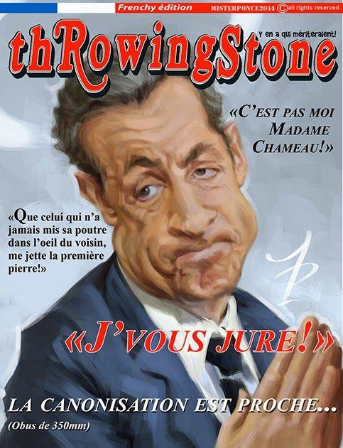 thRowingStone - Sarkozy
