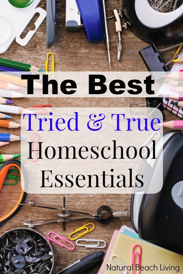 The Best Essentials for Homeschooling, Homeschooling supplies, Organization, Great School Supplies, Education, Teaching Supplies, www.naturalbeachliving.com