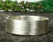 Sterling silver band ring 8x12mm , men's band,Womens ring,wedding band ring - 925 , textured