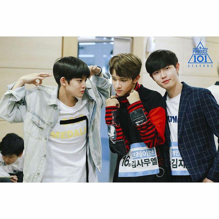 Bae Jin, Muel, Jaehwan