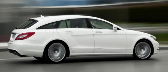 Mercedes-Benz CLS Shooting Brake   A la venta en otoño, presenta detalles exquisitos como un espacio de carga dotado con un piso de madera de cerezo.