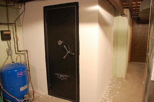 25 best ideas about in wall gun safe on pinterest for Walk in safes for homes