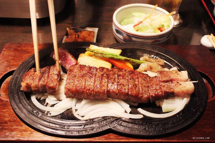 Gyu-An, kobe beef restaurant, Tokyo