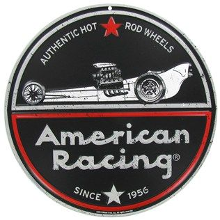 Open Road Brands American Racing Embossed Tin Sign | Shop Hobby Lobby