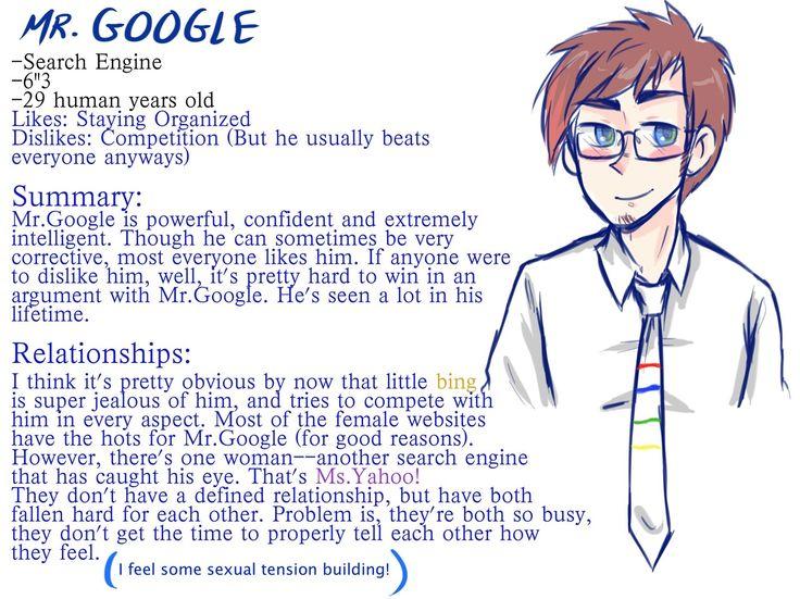 Mr.Google's bio #The Interwebs Series #fan made