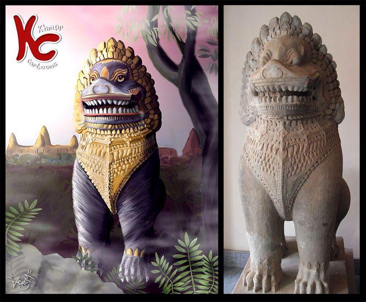 Lion Khmer