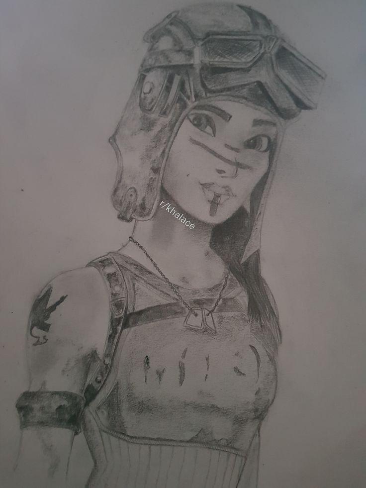 Hey all. I drew Renegade Raider for a friend. Took a ...
