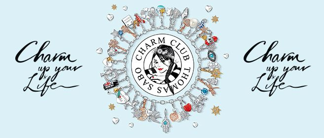 Discover the #THOMASSABO #CharmClubCollection featuring summery-fresh accents for the season!