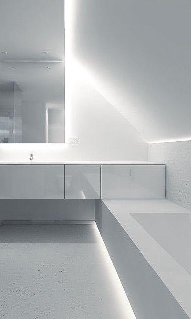 White Bathroom by Filip Deslee