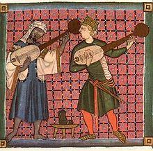 La tradición oral o lírica tradicional fue representada y transmitida esencialmente por los juglares, músicos errantes que buscaban exponer, cantar y divertir a los escuchas (no debe confundirse con los bufones) estos cantos muchas veces tenían un fin educativo