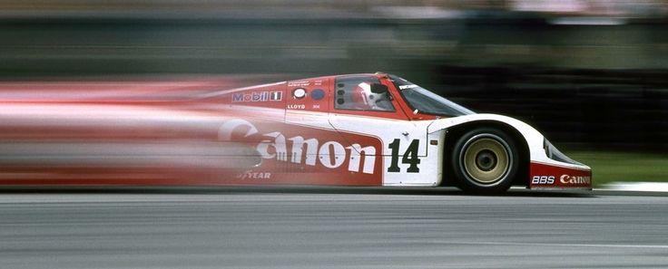1983 Jonathan Palmer - Jan Lammers Porsche 956 - Richard Lloyd Racing