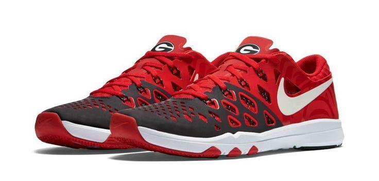 Nike Men's Train Speed 4  Amp Uni of GA Logo Training Shoes Sz 14 (844102-601) #Nike #AthleticSneakers