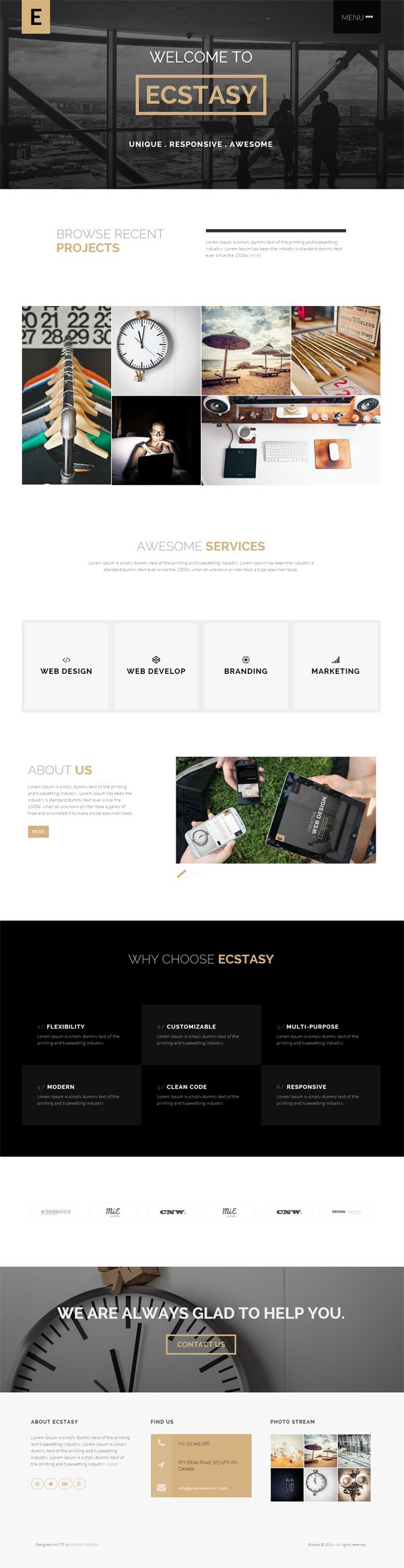 71 best #Web #Templates images on Pinterest | Role models ...