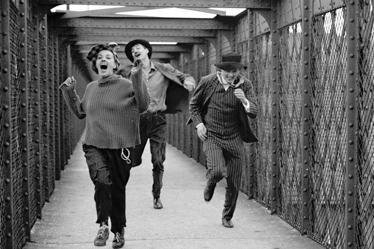#Sixties | Jules et Jim, starring Jeanne Moreau, Oskar Werner and Henri Serre, 1961. Directed by François Truffaut.
