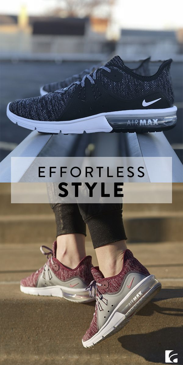 69f1ddbe73569 Looking cool is as simple as lacing up these shoes. Shop the Nike Air Max  Sequent 3