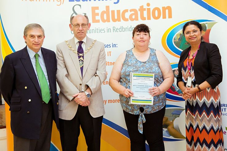 Janice Gayer was one of three people to be successfully nominated for a Children Centre award