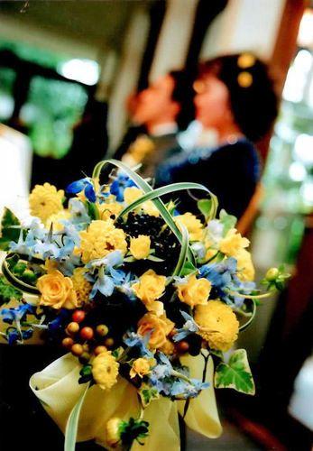 Wedding Bouquet by Kent Florist Mikiko Inoue
