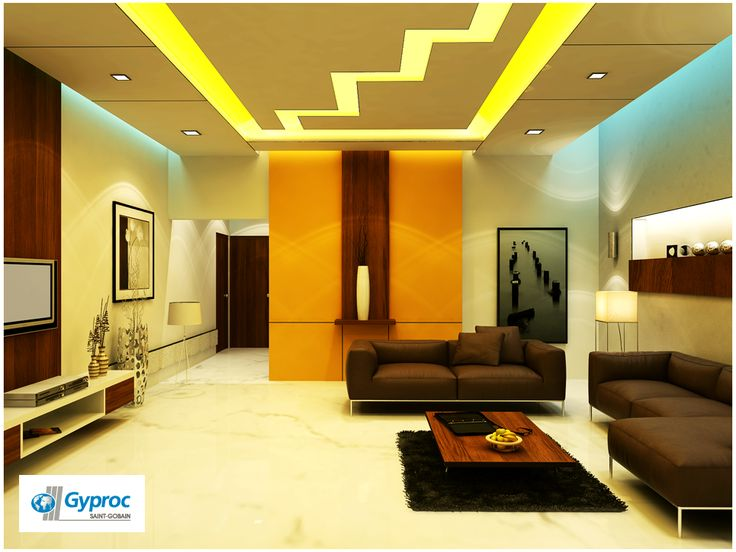 Gyproc # Falseceiling Can Completely Change Your Living Room U0026 Give It A · Ceiling  DesignFalse ...