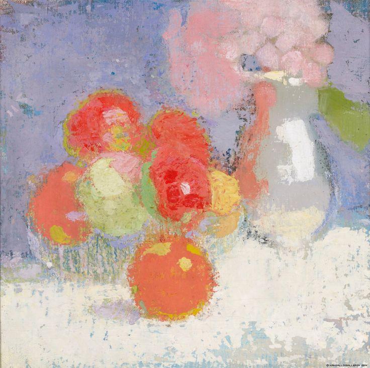 Punaiset omenat, 1915 | Helene Schjerfbeck | Kansallisgalleria | Kuva Henri Tuomi