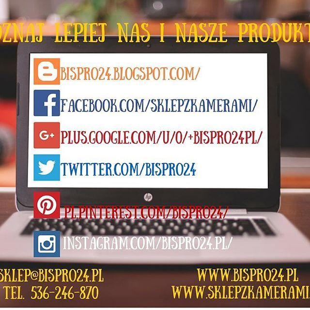 Odwiedzajcie nas, zapraszamy! #bispro24 #skleponline #socialmedia