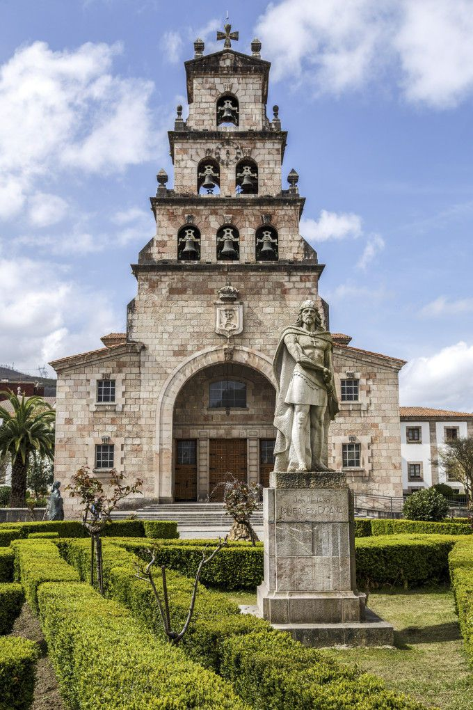 Iglesia de la Asunción en Cangas de Onís, Asturias