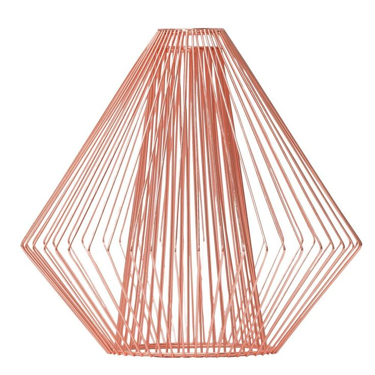 Copper Wire Light Shade   Me And My Trend