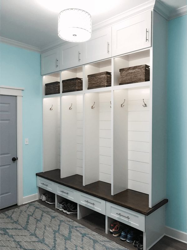 48 best superb mudroom entryway design ideas with Hallway lockers for home