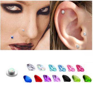 Magnetic Fake Nose, Ear, Monroe Stud