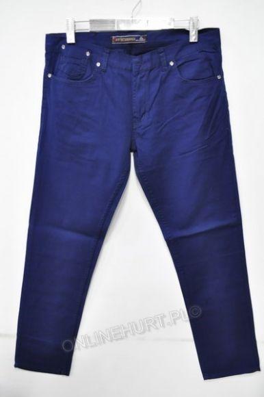 Spodnie Męskie Artista 1850  _E1 (30-38) kobalt
