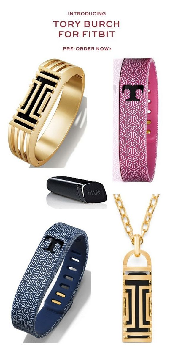 This is beyond cool!  Tory Burch for fitbit!