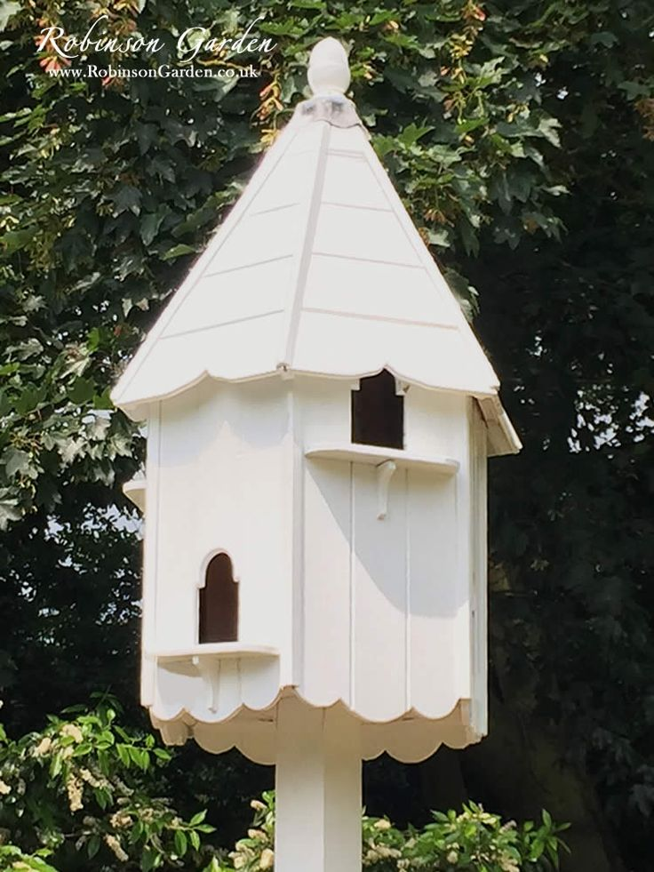 A beautiful and bespoke wooden Dovecote Dove