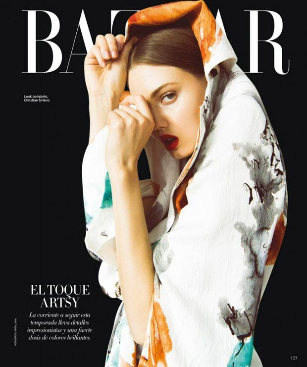 Harper's Bazaar Mexico February 2017 Cover Story Starring Lindsey Wixson