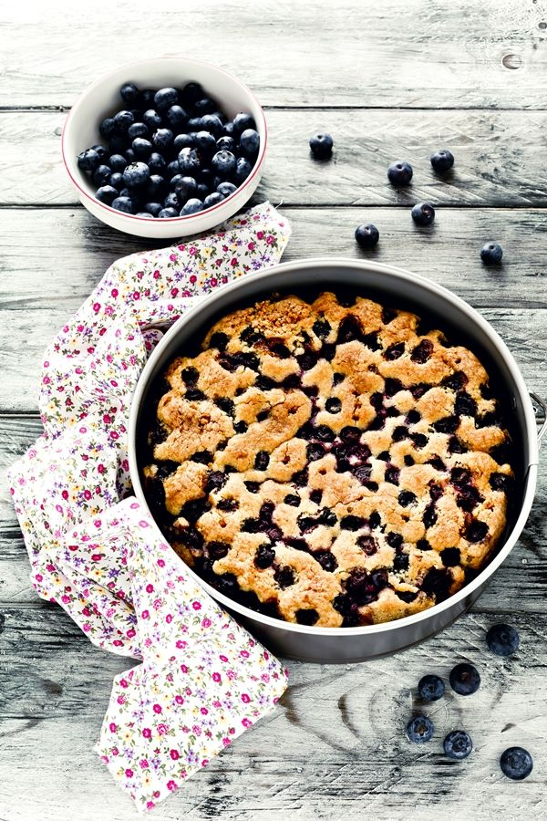 Soft blueberry cake - Blueberry cake - Torta morbida ai mirtilli - Torta ai mirtilli -