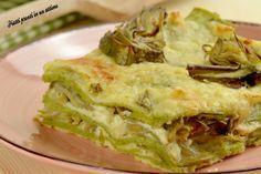 Un primo piatto che vi farà fare un figurone con i vostri ospiti. Se porterete in tavola queste lasagne ai carciofi il successo è garantito.