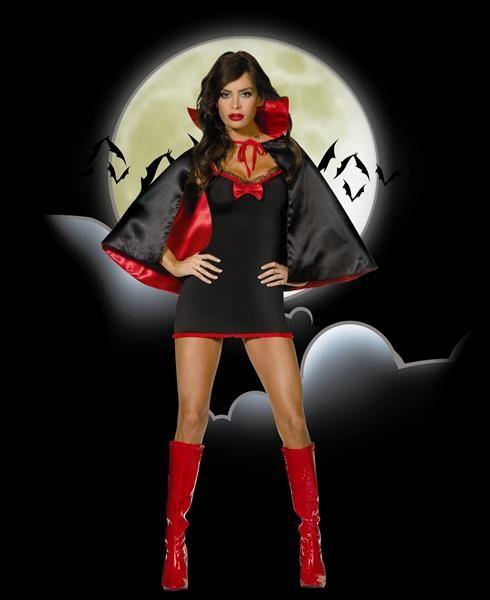 Вампирские костюмы на хэллоуин