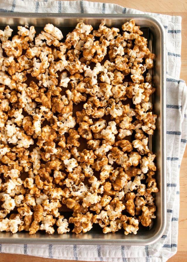 Recipe: Pumpkin Spiced Caramel Corn — Snack Recipes from The Kitchn   The Kitchn