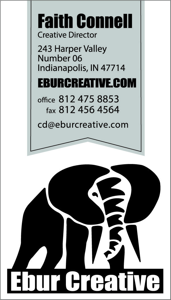 44 best business card design images on pinterest business card the business card design for ebur creative businesscarddesign reheart Gallery