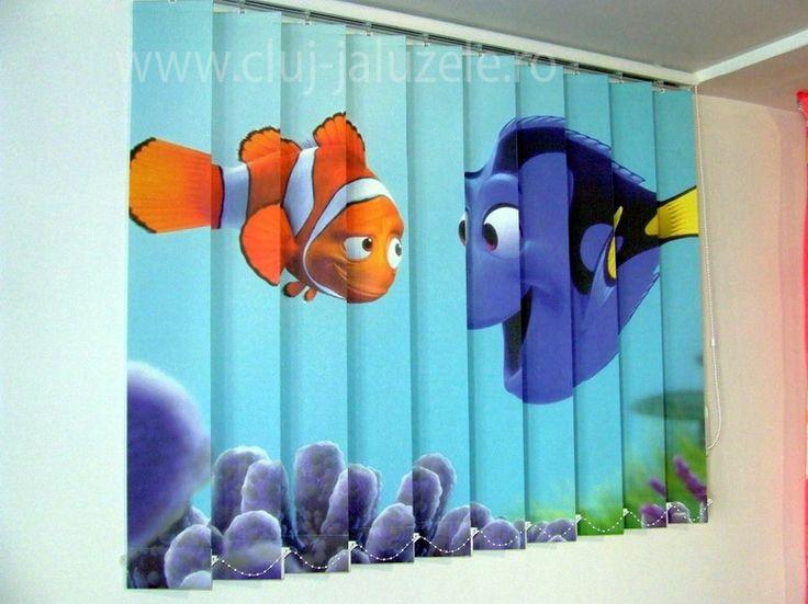 Galerie Jaluzele Personalizate Cluj | Lexundros  Jaluzea personalizata Desene Finding Nemo