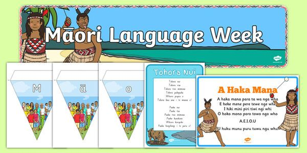 * NEW * Maori Language Week Resource Pack