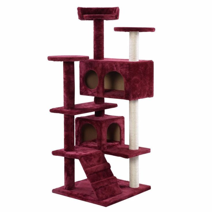 Cat Tree Tower Condo and Scratching Post