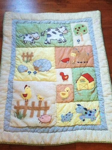 22 Piece Kidsline Barnyard Baby Nursery Crib Bedding Farm Animals | eBay