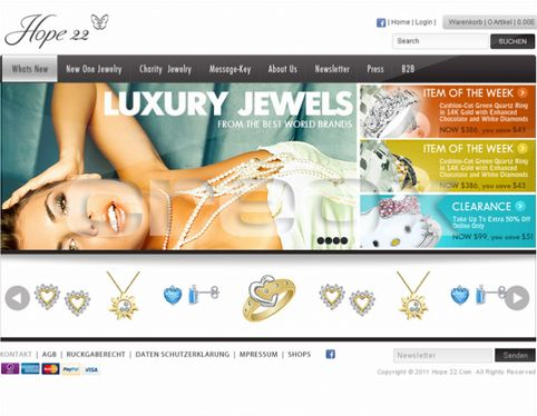 Magento Online Shop by CREOX.cz  | #twago #webdesign #ecommerce